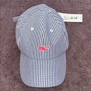 Brand New Striped Vineyard Vines Baseball Hat!!